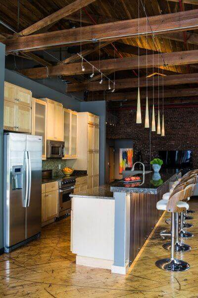 Industrial Loft Design