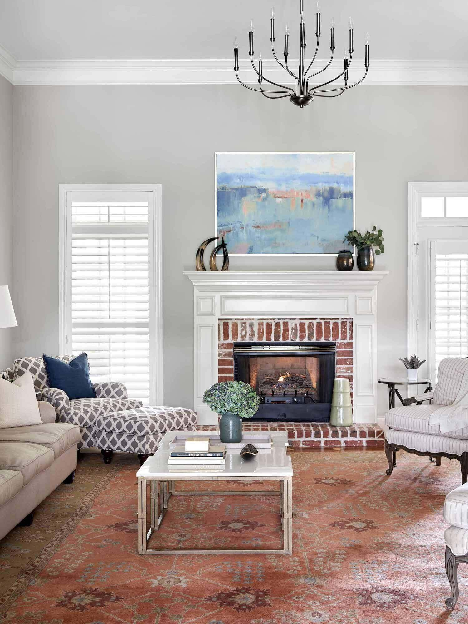 Brentwood Makeover - Living Room Renovation