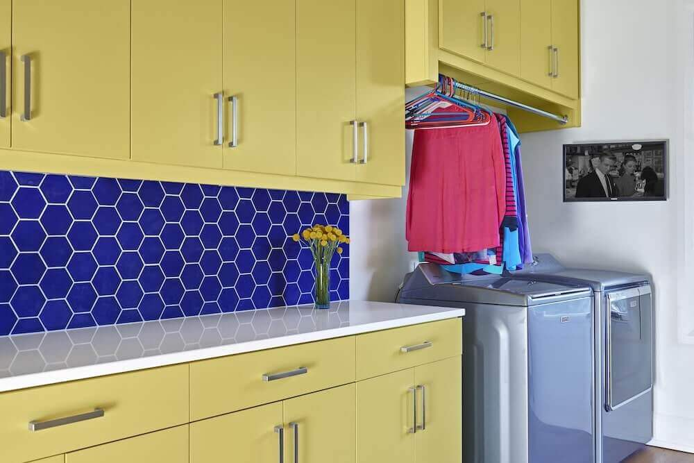 Learn to love your laundry room. | Beth Haley Design
